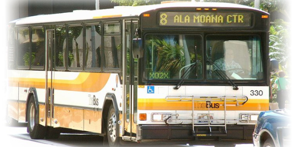 ハワイ 移動手段 ザ・バス